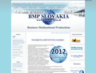 bmpslovakia.sk screenshot