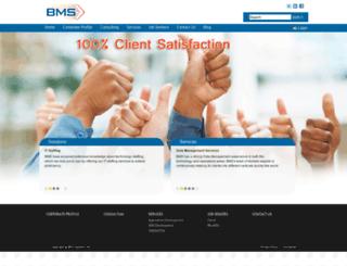 bmssystemsinc.com screenshot
