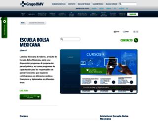 bmveducacion.com.mx screenshot