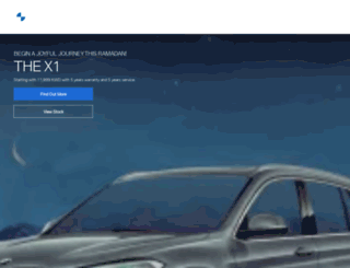 bmw-kuwait.com screenshot