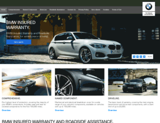 bmw-warranty.co.uk screenshot