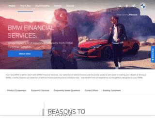 bmwfinance.co.za screenshot