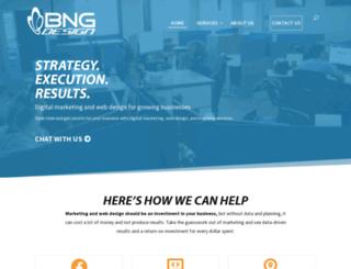 bngwebsitedesign.com screenshot