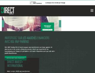 bnpparibas-personalinvestors.lu screenshot