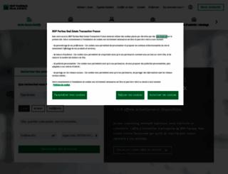 bnppre.fr screenshot