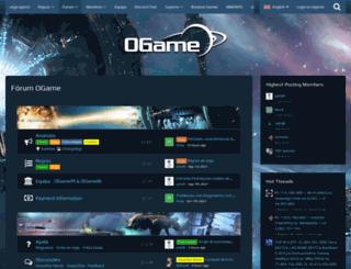 board.br.ogame.gameforge.com screenshot