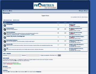 board.prometeus.net screenshot
