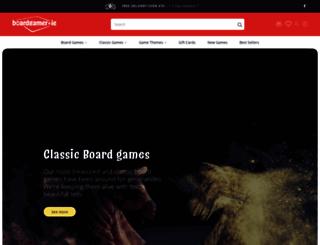 boardgamer.ie screenshot