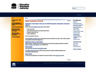 boardofstudies.nsw.edu.au screenshot