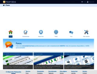 boards.miarroba.com screenshot