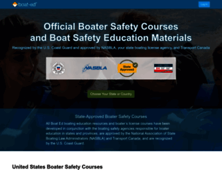 boat-ed.com screenshot