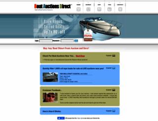 boatauctionsdirect.com screenshot