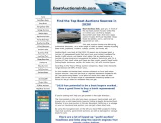 boatauctionsinfo.com screenshot