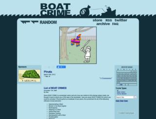 boatcrime.com screenshot