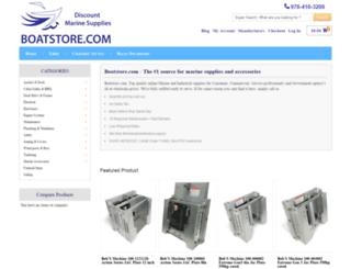 boatstore.com screenshot