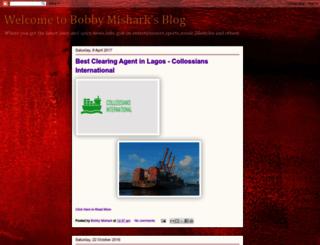 bobbymishark.blogspot.com screenshot