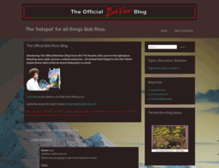 bobrossblog.wordpress.com screenshot