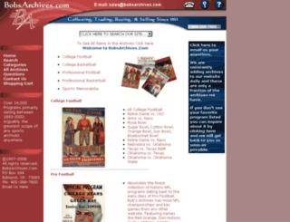 bobsarchives.com screenshot