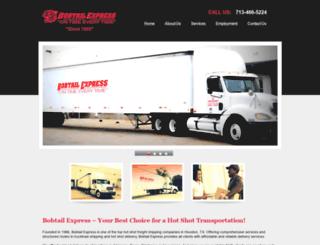 bobtail-express.net screenshot