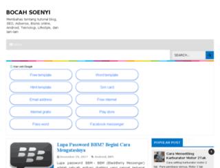 bocahsoenyi.com screenshot