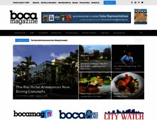 bocamag.com screenshot