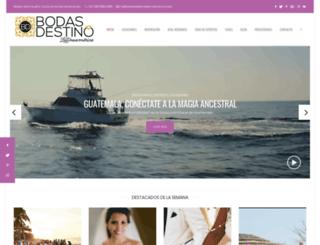 bodasdestinolatinoamerica.com screenshot