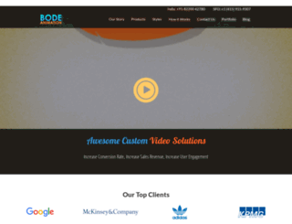 bodeanimation.com screenshot