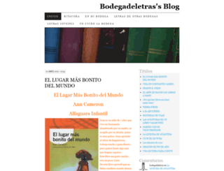 bodegadeletras.wordpress.com screenshot