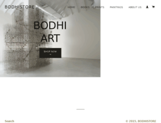 bodhistore.in screenshot