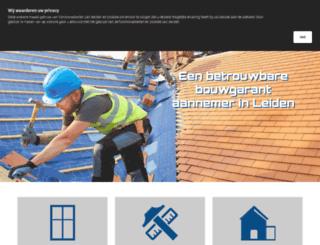bodijnaannemers.nl screenshot