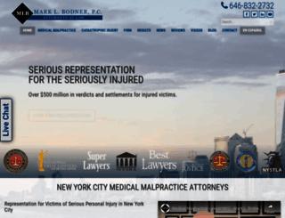 bodnerlaw.com screenshot