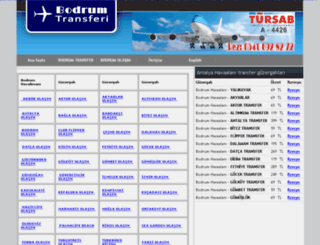 bodrumtransferi.com screenshot