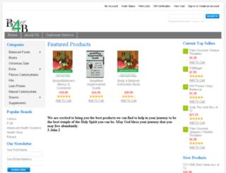 body4believers.mybigcommerce.com screenshot