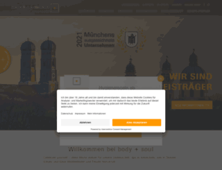 bodyandsoul.ag screenshot