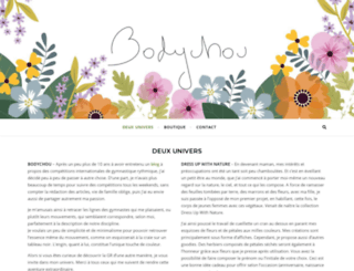 bodychou.com screenshot