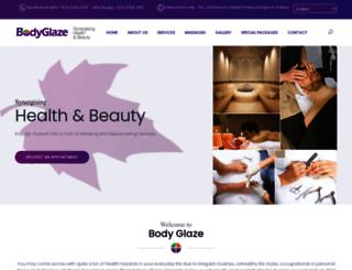 bodyglazeqatar.com screenshot