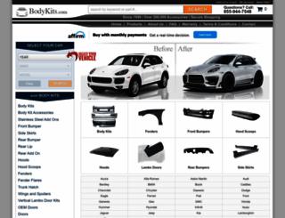 bodykits.com screenshot