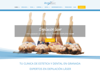 bodylaser.es screenshot