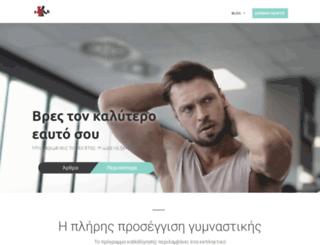 bodyline.gr screenshot