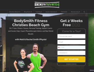 bodysmithfitness.com.au screenshot