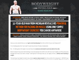 bodyweightoverload.com screenshot