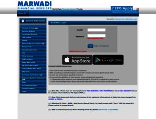 boffice.marwadionline.com screenshot