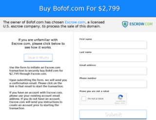 bofof.com screenshot