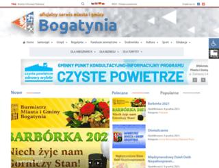 bogatynia.pl screenshot