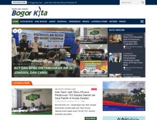bogor-kita.com screenshot