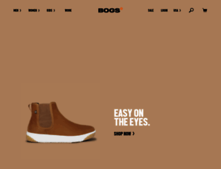 bogsfootwear.com screenshot