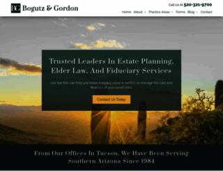 bogutzandgordon.com screenshot