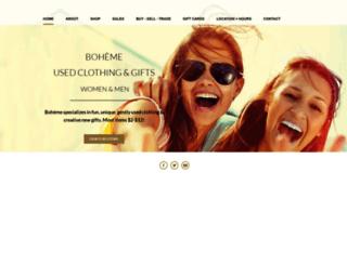 bohemethreads.com screenshot