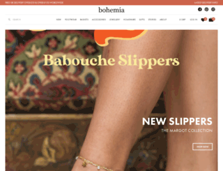 bohemiadesign.co.uk screenshot