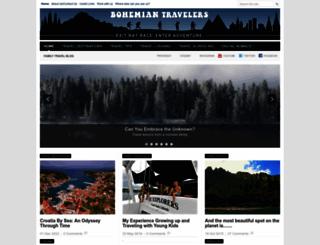 bohemiantravelers.com screenshot